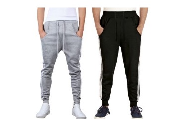 Stylish Mens Sports Track Pant (Pack Of 2) low price