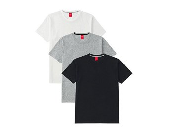 Scott Men's Round Neck Solid T-shirts – Pack of 3 low price