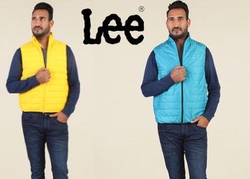 Lee Yellow Slim Fit Jacket low price