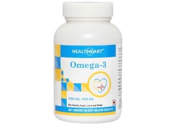HealthKart Omega 3, 60 softgels low price