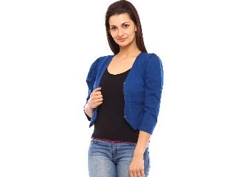 Vvoguish Corporate Wear Blue Shrugs low price