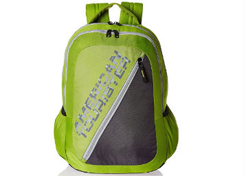 Flat 73% Off : American Tourister Lime Green Casual Backpack at Just Rs. 695 +FREE Shipping low price