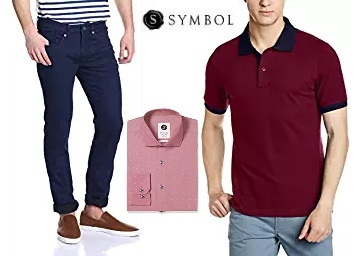 Steal Deal : Minimum 50% Off On Symbol Clothing, Inner wears & More, starts at Rs. 149 low price