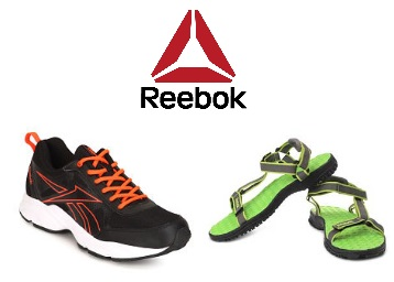 Steal Deal : Buy Reebok Footwear At Minimum 40-50% Off Starting at Rs. 450 discount offer