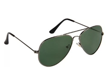 Provogue PV101-Gun-G15 Aviator Sunglasses at FLAT 80% Off discount offer