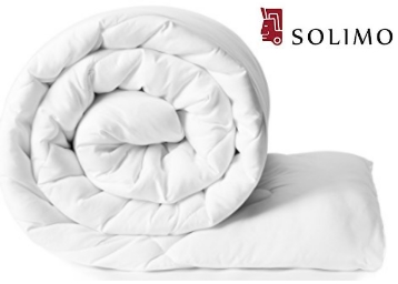 Solimo Microfibre Comforter, Single (White) at Flat 48% Off low price