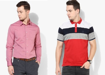 Get Minimum 50% OFF On Blackberrys Clothing, starts at Rs. 648 discount offer