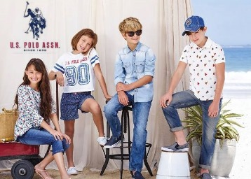 Kid's Special : US Polo Kids Clothing at Upto 70% Off Starting at Rs.199 low price
