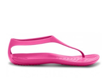 21da877a0 ... Lowest Online  - Crocs Sexi Women Candy Pink Flip at Flat 50% Off.  Freekaamaal.com