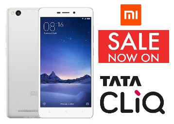 Live at 12 P.M : Redmi 3S Prime Now Live On Tatacliq {3GB, 32GB}