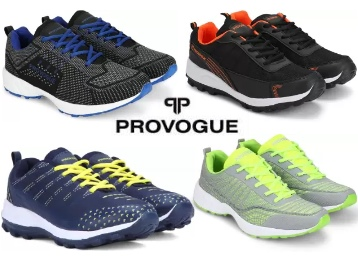 Steal Deal : Provogue Entire Range Of Shoes Minimum 50% Off From Rs. 579 discount deal