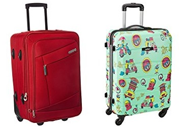 Steal Deal : { Safari, American Tourister & Skybags} Trolley Bags Flat 50% Off + FREE Shipping low price