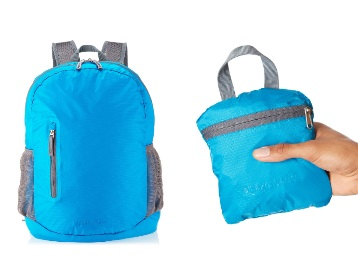 {10% Claimed} AmazonBasics Ultra thin Foldable Day Pack at Just Rs. 399 + FREE Shipping discount deal