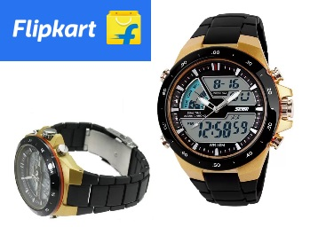 Skmei Analog-Digital Watch For Men at Flat 88% Off + FREE Shipping low price