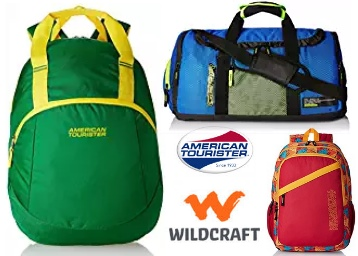 Minimum 50% Off on Backpacks and Luggage From Rs. 449 + FREE SHIPPING low price
