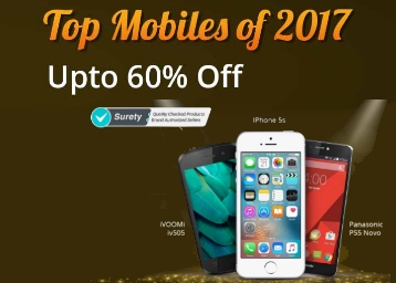 Top Best Mobiles Of 2017 at Up to 60% Off (Moto, Redmi, Samsung & More) + More Offers