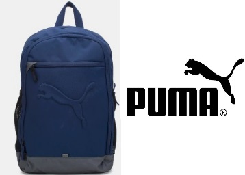 Steal Deal : Puma Unisex Blue Laptop Backpack at 60% Off + Extra Rs.100 Off + FREE Shipping low price