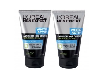 L'Oreal Men Expert White Activ Oil (Pack of 2) at Just Rs. 525 + FREE Shipping low price
