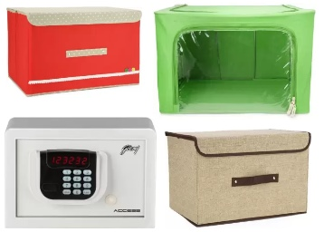 Get Up to 95% Off On PEARL Bed Storage & Safe Locker, starts at Rs. 99 low price