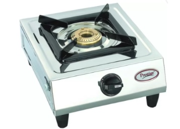 Prestige Prithvi Stainless Steel Manual Gas Stove at Lowest EVER + Free Shipping low price