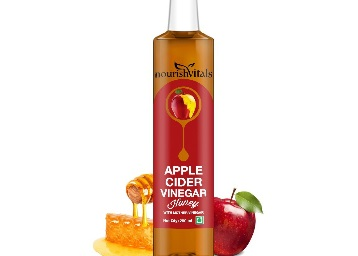{25% Claimed} Nourish Vitals Apple Cider Vinegar With Honey (250ml) at Just Rs.149 + FREE Shipping low price