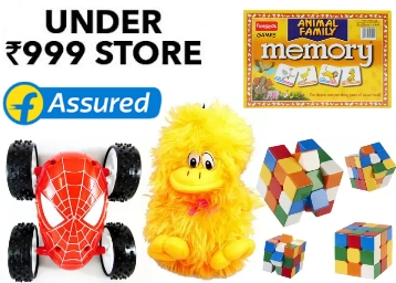 Kids Merchandise:- Toys, School Bags, Stationary All Under Rs. 999, starts at Rs. 85 low price