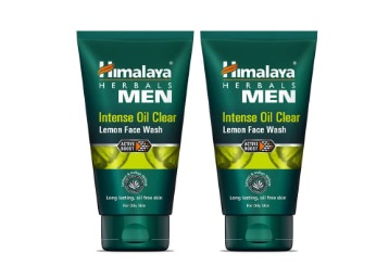 Himalaya Men Intense Oil Clear Face Wash – 100ml (Pack of 2) at Rs. 210 + FREE Shipping low price