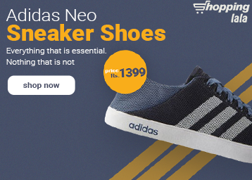 Adidas Neo Sneaker Shoes at Just Rs. 1399 + FREE Shipping