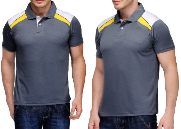 Scott Men's Jersey Collar Neck Sports Dryfit T-shirt at Just Rs. 298 low price