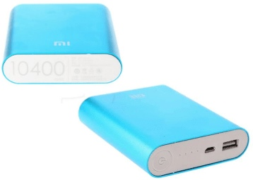 Xiaomi Power Bank 10400 mAh + 6 Months Warranty at Just Rs. 549 + Free Shipping