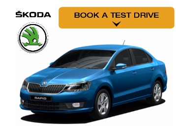 Book Skoda Rapid Test Drive Online Now.. A true masterpiece in every sense low price