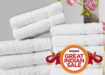 {65% Claimed} Story@Home 10 Piece Premium Cotton Towel at Just Rs. 199 low price