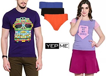 Get Yepme Clothing at Flat 60% off from Rs.149 low price