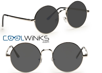 Graviate Silver Full Frame Round Sunglasses at Just Rs. 11 (Pay for Lens & Get Extra 10% OFF) low price