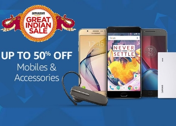 Top Deals on Mobile & Accessories, Up to 50% off + Extra 10% Cashback on Site low price