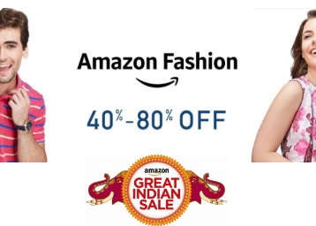 Fashion discount offer