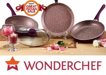 {Hurry Up!!} Minimum 50%OFF On Wonderchef Cookwares From Rs.252 discount offer