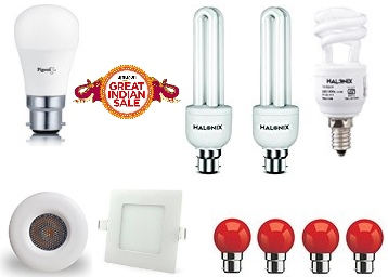 Indoor Lighting 25% off or more from Rs. 46 low price
