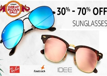 {Top Brands Sale} Get Minimum 30-70% Off On Branded Sunglasses low price