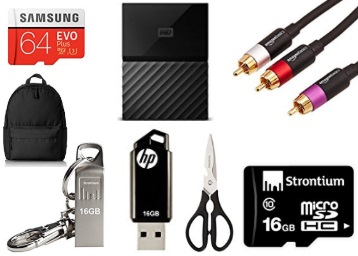 Amazon Pen Drives, Memory Cards & Hard Drives Lightning Deals low price