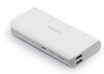 Flat 75% OFF : On Romoss Solo5 10000 mAh Power Bank at just Rs.499 discount deal