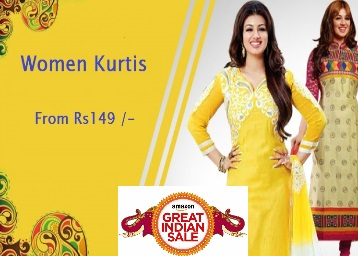 Ethnic Wear : Get Minimum 50% OFF On Kurtis & Kurtas From Rs.149