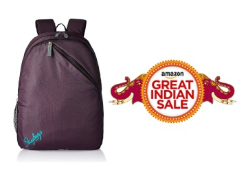 Loot Deal:- Skybags Brat 21 Ltrs Red Casual Backpack at FLAT 70% OFF + Free Shipping low price