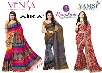 Saree discount offer