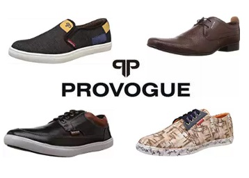 STEAL DEAL : Provogue Shoes Flat 50-70% Off From Rs. 389 + FREE Shipping low price