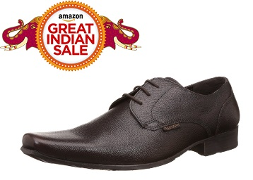 Lightning Deal : Red Tape Men's Leather Formal Shoes at Flat 65% Off + FREE Shipping low price