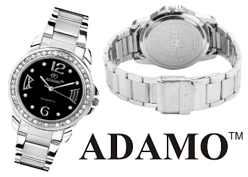 Must Buy:- ADAMO Analogue Black Dial Women's Watch at FLAT 83% OFF low price
