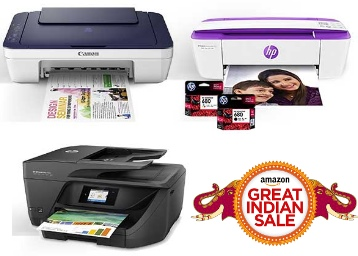 Amazon Printers Lightning Deals : Get Minimum 30% Off Cannon HP & More Printers low price