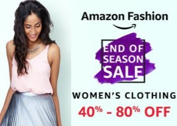 d7bf27a5b7f84 Bumper Deal : Women Clothing 40%-80% Off From Rs. 399 + FREE ...