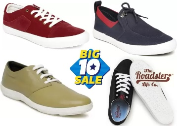 Flat 80% Off : Mast & Harbour Sneakers (Blue) at Just Rs. 390 low price